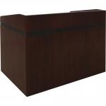 Radius Style Shallow Reveal Custom Presentation Desks