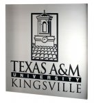 Etched Metal with Color Infill - Texas A&M University Kingsville