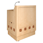 MLP 40 Custom Lectern in Natural Maple
