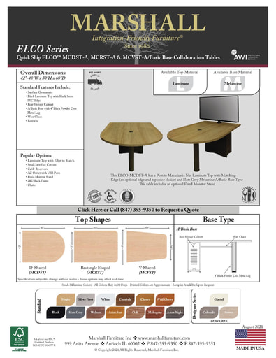 ELCO™ COLLAB Series A Basic Base Cutsheet