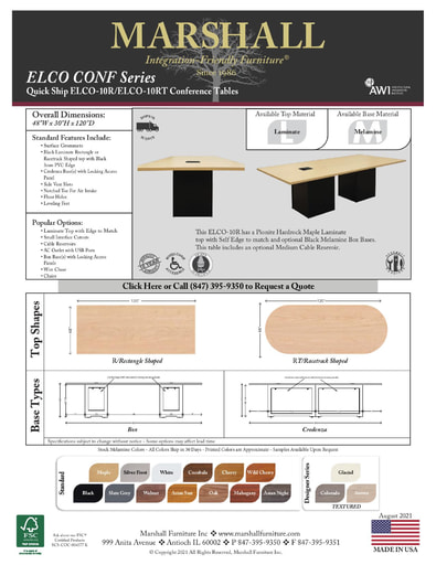 ELCO-10R/10RT Conference Tables