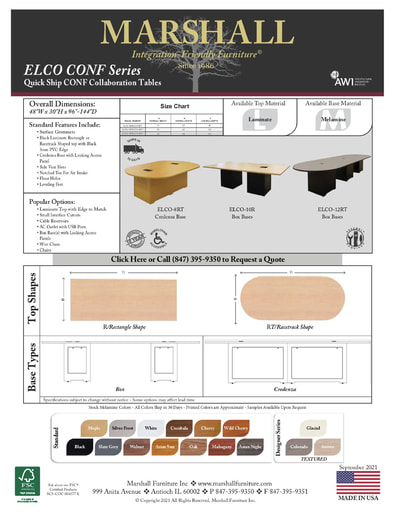 ELCO CONF Series Collaboration Tables