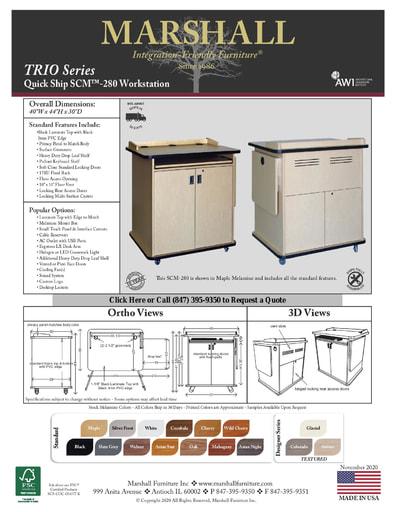 SCM™-280 Workstation Cutsheet