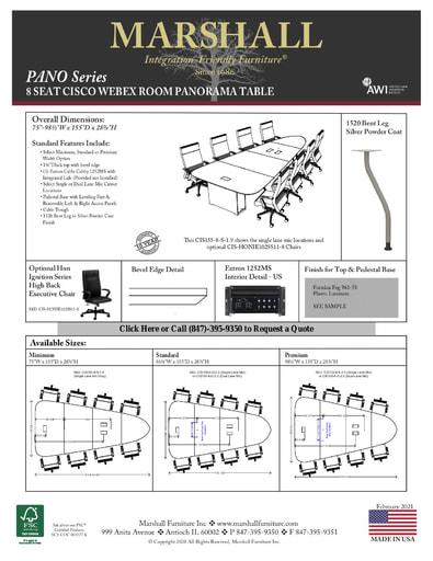 8 Seat Cisco Table