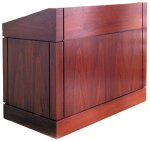 MLC Column Style Lectern in Mahogany