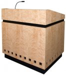 MLCD-35 Classic Deep Reveal Style Lectern in Maple