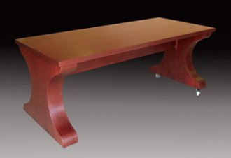Training and Sectional Table in Classic Cherry