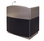 Bowfront Deep Reveal Style Custom Lecterns