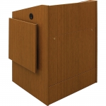 ELCO™-32 System Lectern in Asian Sun Melamine - Front View