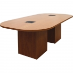 ELCO™ 8RT Race Track Conference Table in Wild Cherry - Back View