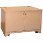 ELCO™-D13RU System Credenza in Maple Melamine - Front View