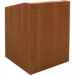MLP-32 ADA Prairie Style Lectern in Honey Cherry - Front View