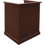 MLP-33 Prairie Style Lectern in Custom Cherry - Front View