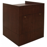 MWSP-30 Prairie Style ADA Workstation in Classic Cherry - Front View