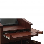 Decorative Fixed Height Pullout Keyboard Shelf