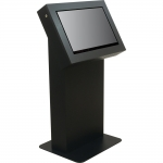 MKT-24 Traditional Style Kiosk in Black Cherry - Front View