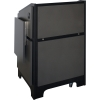 ARCO™-2525M Style Lectern in Slate Grey Melamine - Audience Side View