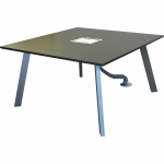 CTR 48x48MODi™ Style Rectangular Video Conference Table - Top View