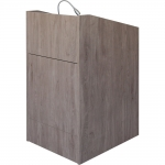 ELCO™-25 Quick Ship Lectern in Colorado Textured Melamine - Front View