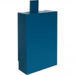 WVC-25 Video Conference Wall Cabinet in Sherwin Williams Oceanside SW6496 - Front View