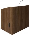 MLP-46 Prairie Style Lectern in Wilson Art Pinnacle Walnut Laminate - Front View