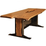 CTR Live Edge Walnut Conference Table
