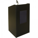 Lecterns with Complete Sound System - Front View