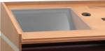 Recessed Glass/Plexi LCD Mount