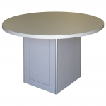 MRTA-CTC-48 Collaboration Table in Silver Frost Melamine