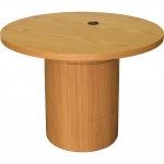 CTC-42 Collaboration Table in Light Oak - Closed View