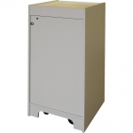 ELCO™-20RU Mobile Rack Cabinet - Front View