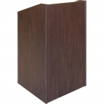 ELCO™-25 System Lectern in Cocobala Melamine - Front View
