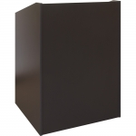 ELCO™-32 System Lectern in Slate Grey Melamine - Front View