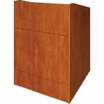 ELCO™-32 System Lectern in Wild Cherry Melamine - Front View