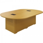 ELCO™ 8RT Race Track Conference Table with Maple Laminate and Melamine