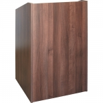 ELCO™-25 System Lectern in Walnut Melamine - Front View