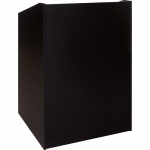 ELCO™-32 System Lectern in Black Melamine - Front View