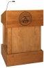 MLT-32 Traditional Style Lectern in Custom Cherry