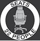 Seats 22 People