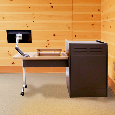 ELCO-25WS Workstation and Side Table