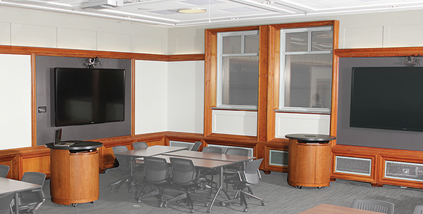 Video Conference and Collaboration Furniture